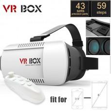 هدست واقعیت مجازی VR Box + ریموت بازی, عینک واقعیت مجازی اصل ارزان