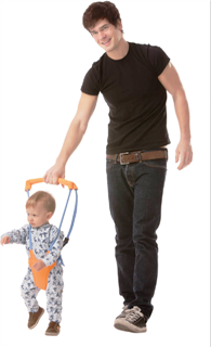 خرید اینترنتی واکر کودک baby moon walker وسیله کمک راه رفتن کودک اصل ارزان