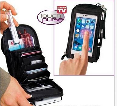 خرید کیف موبایل تاچ پرس اصل